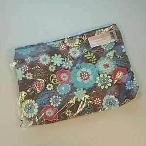 Thirty-one zipper pouch floral fanfare